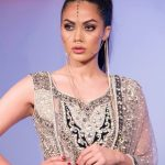 Asian Wedding Experience Catwalk | Purple and blue wedding lengha