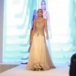 Asian Wedding Experience Catwalk | Gold bridal Lengha