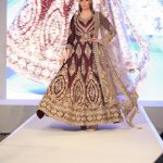 Asian Wedding Experience 2016 catwalk | Maroon Lengha