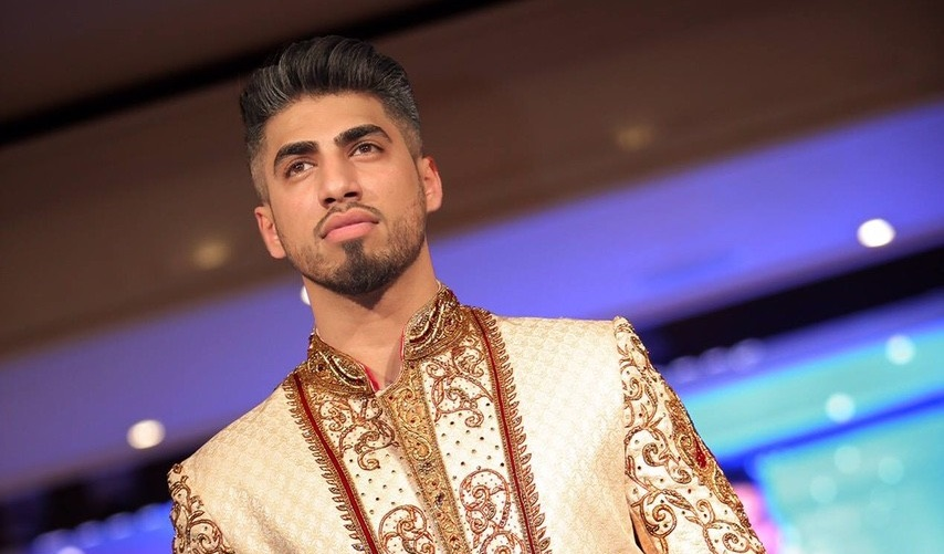 Asian Wedding Experience Catwalk Groom in Sherwani